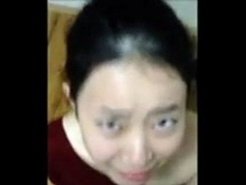 Asian unwanted facial cumshot