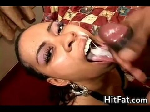 Black Sluts facial Cumpilation