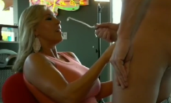 This Milf's boyfriend keeps shooting his load