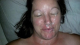 amateur facials porn suprise facial
